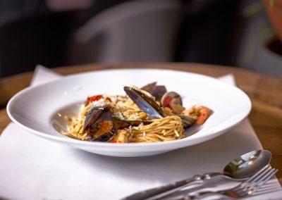 Spaghetti aux Fruits de Mers